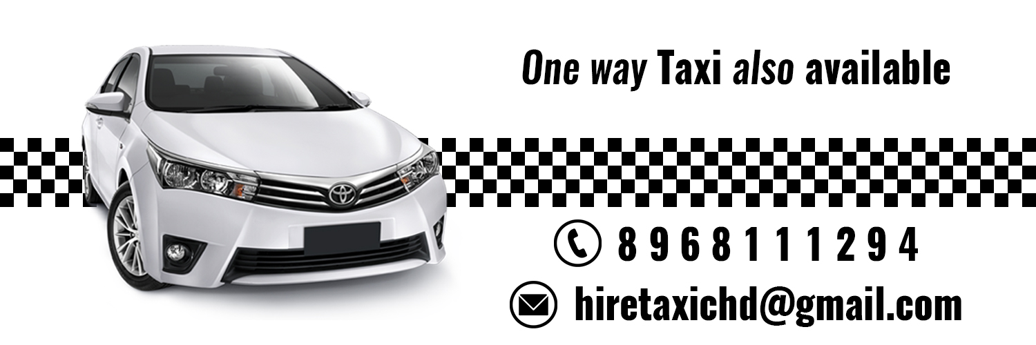 hire taxi in chd
